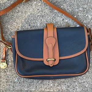 Vintage Dooney and Bourke equestrian purse
